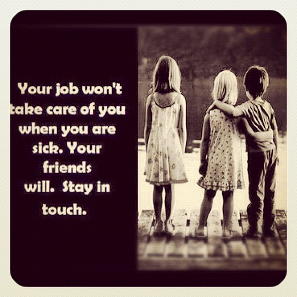 your job won t take care of you when you re sick your fr