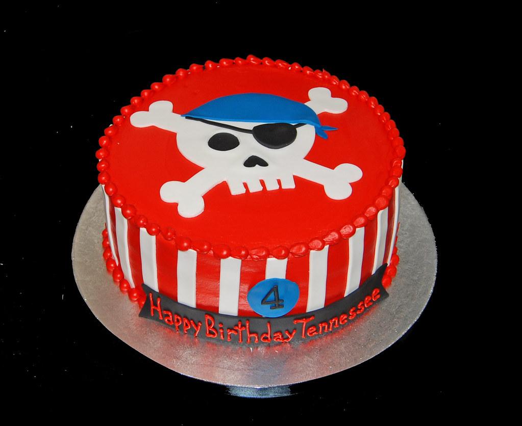 Pirate Skull Cake Pan