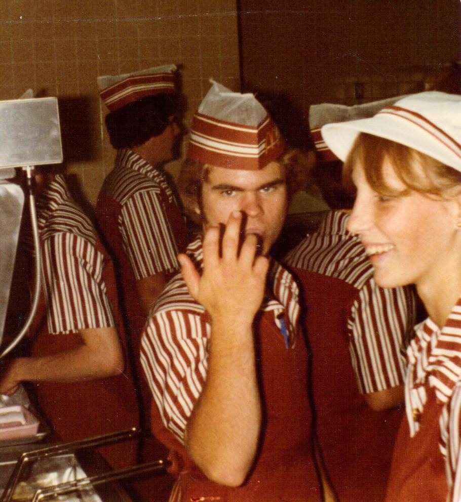 Old Mcdonald S Logo: McDonald's Uniforms In Caldwell Idaho Crew Trainer Rod Fro