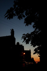 dusk on the eve of the Summer Solstice by Richard Hammerton