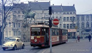 Tram & Trolleybus in Aachen (1972)