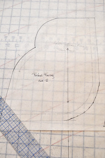 06.24.11 | drafting a shaped pocket | by elegant musings
