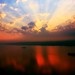 Sunrise on the Hudson River