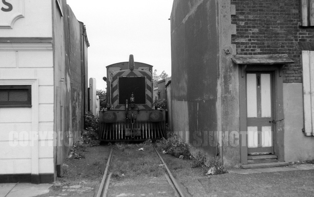 Great Yarmouth D22xx Swan Yard Coal Depot Shunt Photo By