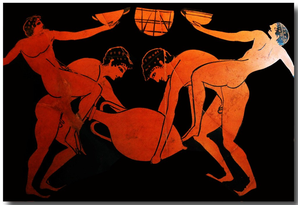Ancient greek pottery decoration 178 hans ollermann flickr for Ancient greek pottery decoration