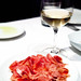 Thinly sliced Serrano ham, Arrels Olive Oil