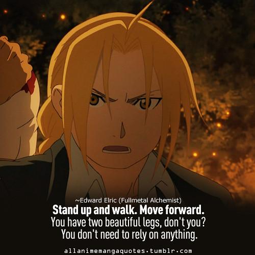 anime quotes fullmetal alchemist animenger sweet love