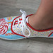 Handpainted Shoes - Sweet Candy