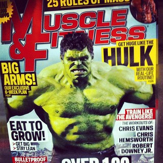 Get huge like Hulk! Hulk smash magazine cover. #hulk #comicbooks #avengers #branding #marketing | by buddy_scalera