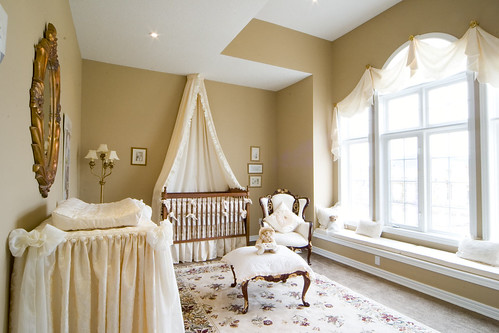Nursery bedroom in the meadowlands flickr photo sharing Master bedroom shared with nursery