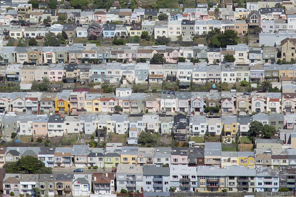 Aerial view of coastal 39Quintera39 Sunset District