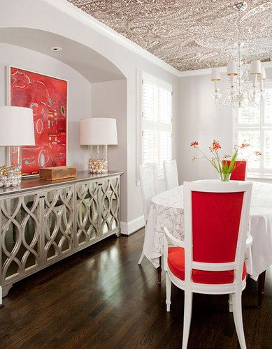 red+white+dining+chairs.jpeg | by Arianna Belle