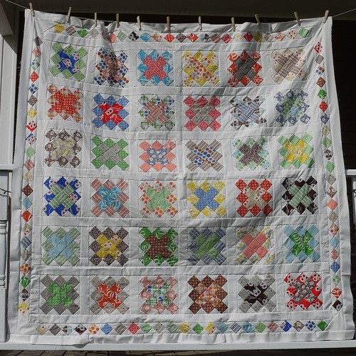 Granny Square Quilt Top | by terrabytefarm