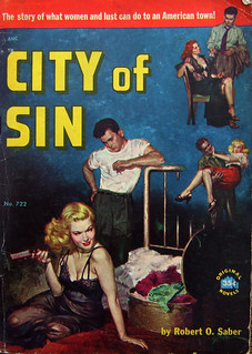 City Of Sin - Original Novels - No 722 - Robert O. Saber - 1952. | by MICKSIDGE
