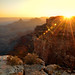 sunset at cape royal in grand canyon