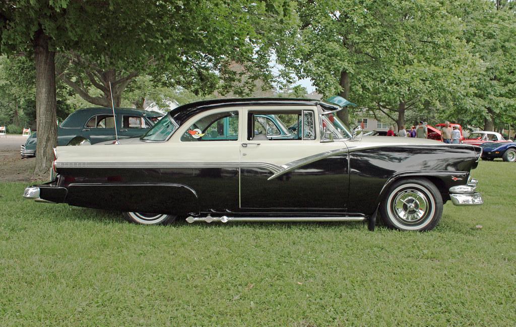 1956 ford fairlane 2 door club sedan custom 4 of 9 flickr for 1956 ford fairlane 4 door