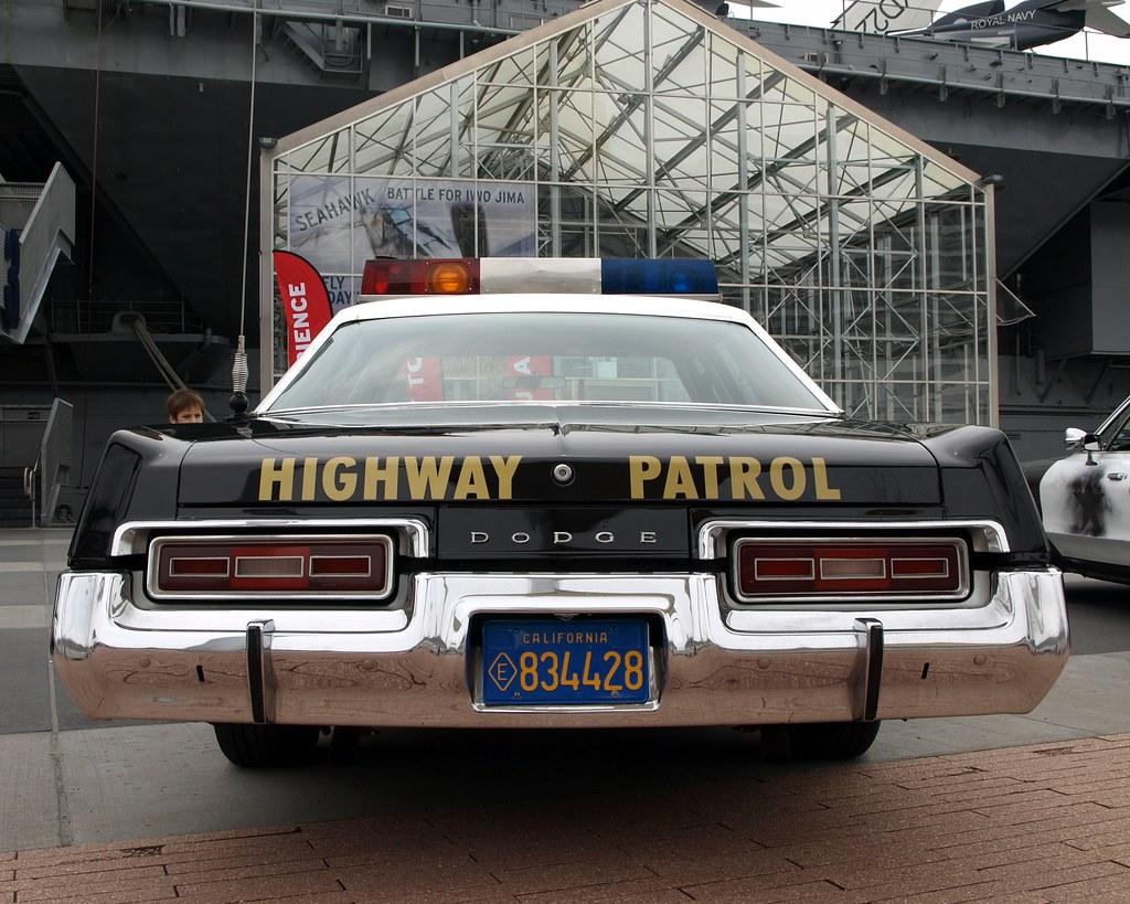 Vintage Dodge Monaco California Highway Patrol Police Car,… | Flickr