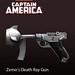 Captain America: Zemos Death Ray Gun 2D concept