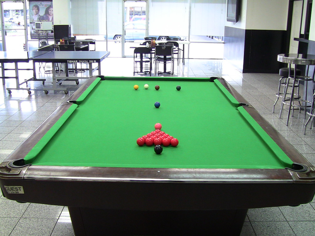 Professional pool table play on professional size for 1 4 size snooker table