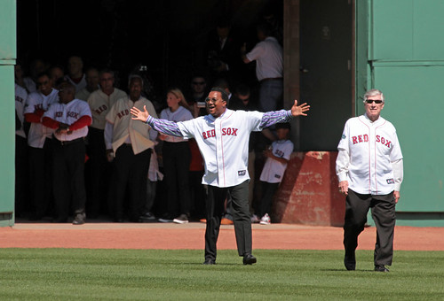 Fenway 100th - Pedro! | by ah_pics