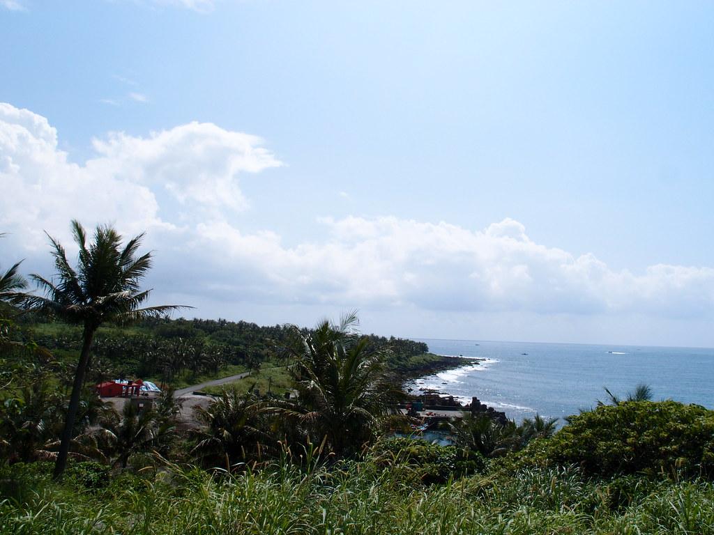 遠眺基翬海岸