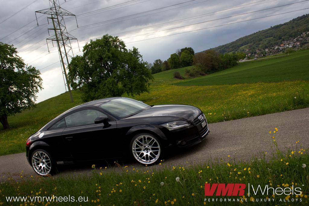 Vmr Wheels V718 Hyper Silver Audi Tt Vmr Wheels V718