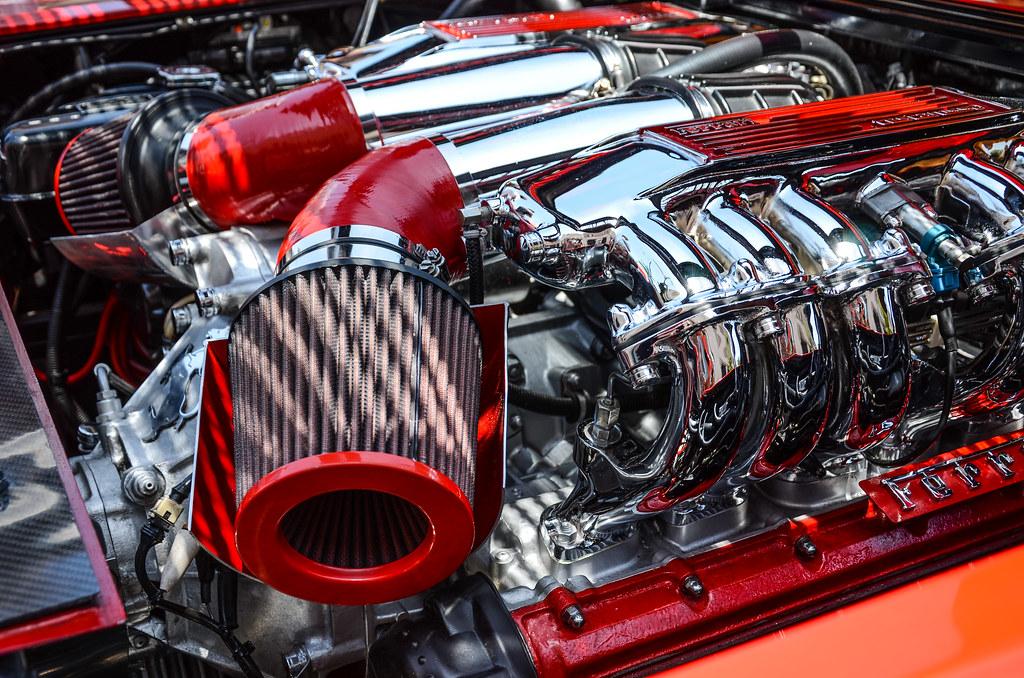 Ferrari Testarossa Engine 2014 Concoso Ferrari