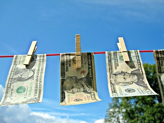 Money Laundering - Dollars | by Images_of_Money