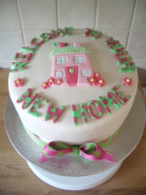 Welcome to your new home cake explore cathfieldcakes for Welcome home cake decorations