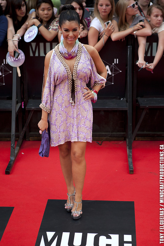 Mia Martina 2011 Mmva Muchmusic Red Carpet 2011 Much