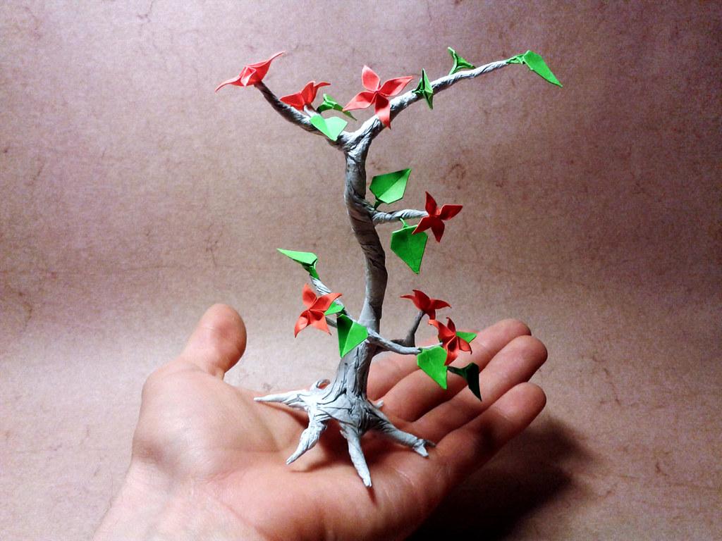 origami bonsai yaroslav mischenko Я�о�лав Ми�енко