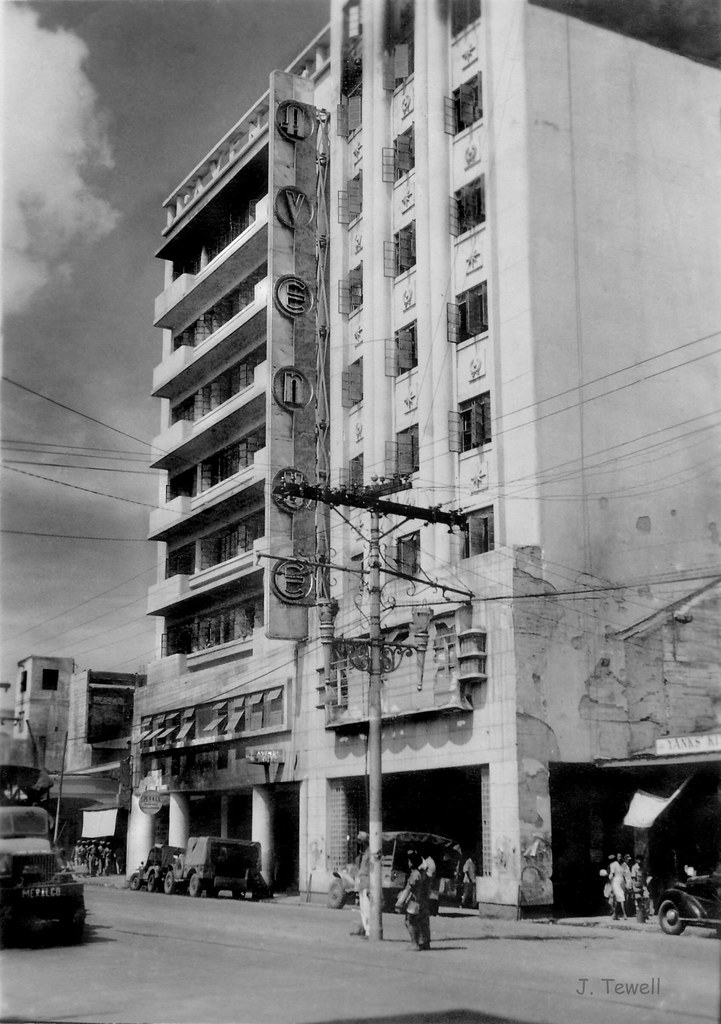 Avenue Hotel, Manila, Philippines, 1940s after WWII | Flickr