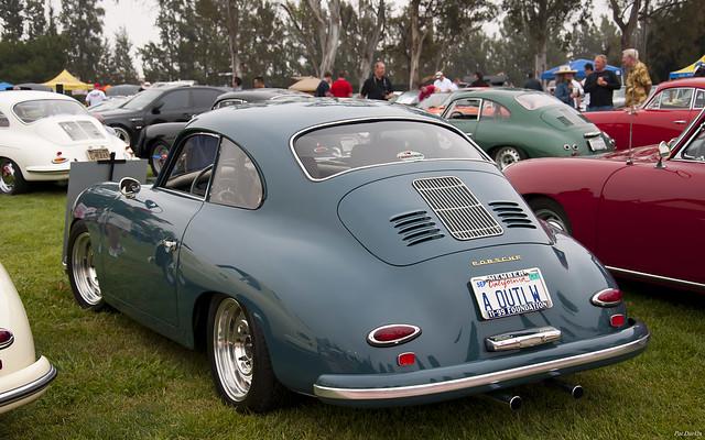 1957 Porsche 356 Coupe Aqua Marine Blue Fvl Steve