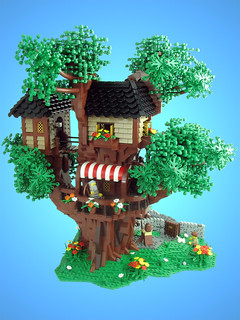 Mrs. Merple's Treehouse | by tiberium_blue