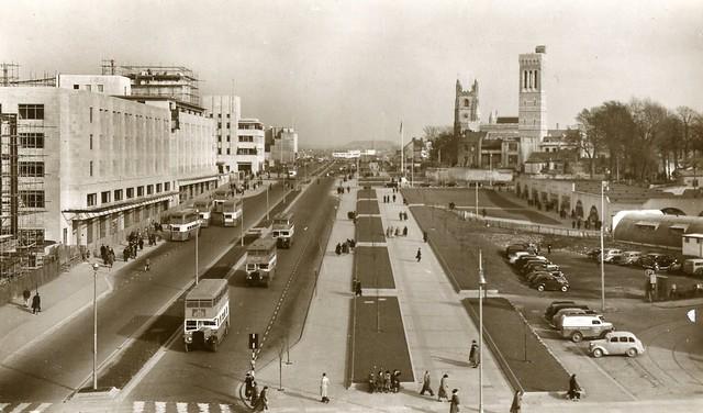 Royal Parade Plymouth C 1951 Flickr Photo Sharing