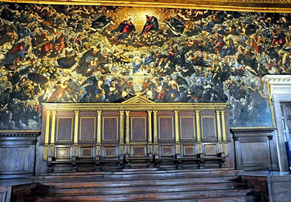 Italy 1605 Largest Oil Painting In The World Please