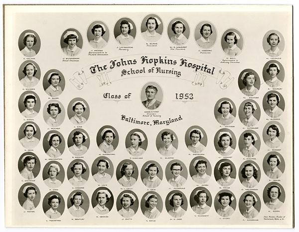 [Johns Hopkins Hospital School of Nursing, class of 1952] | Flickr