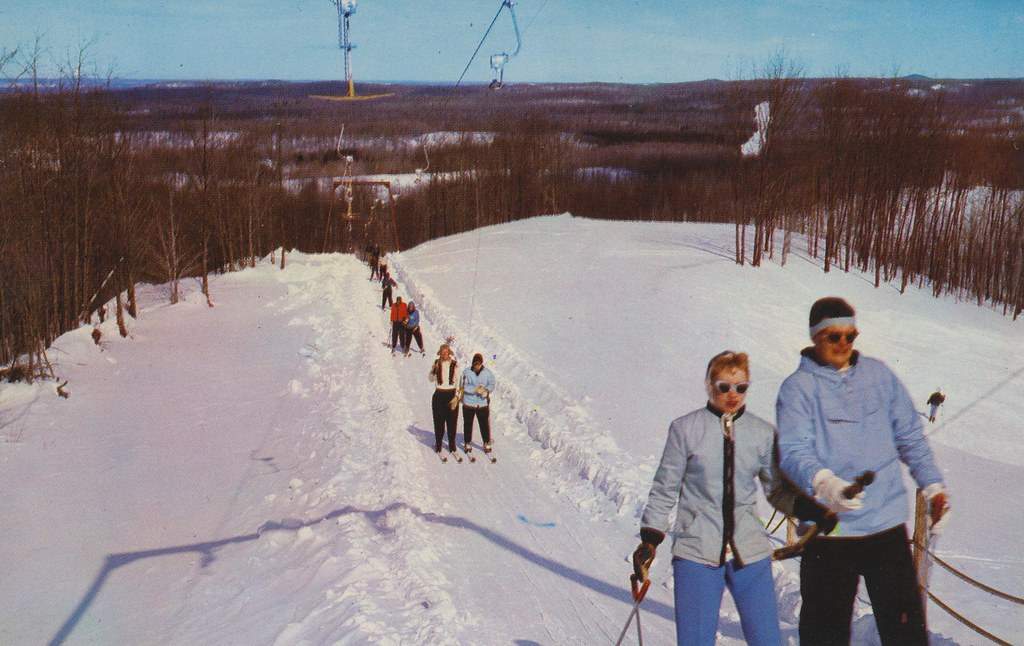 Caberfae Ski Area Cadillac Michigan This 640 Acre Ski