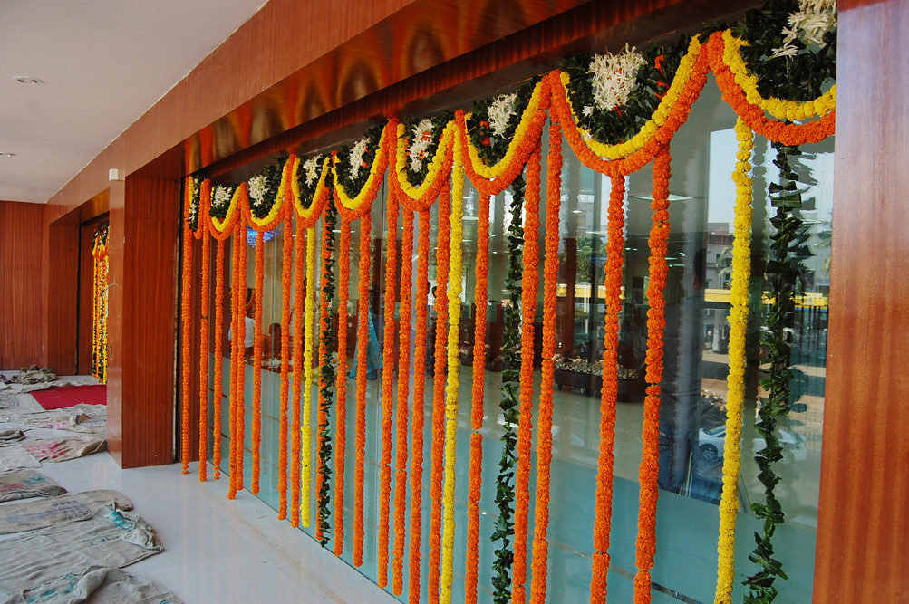 Elevation Of New Office With Flower Decoration 10 12 2010