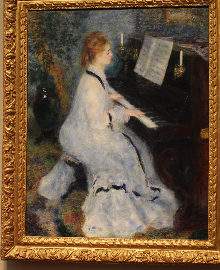 Woman at the Piano; Re...