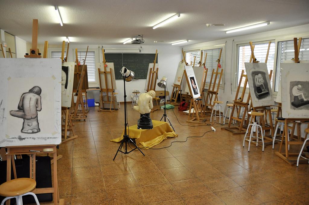 Aula de Dibujo Artstico de ESNE Madrid  Aula de Dibujo Art  Flickr