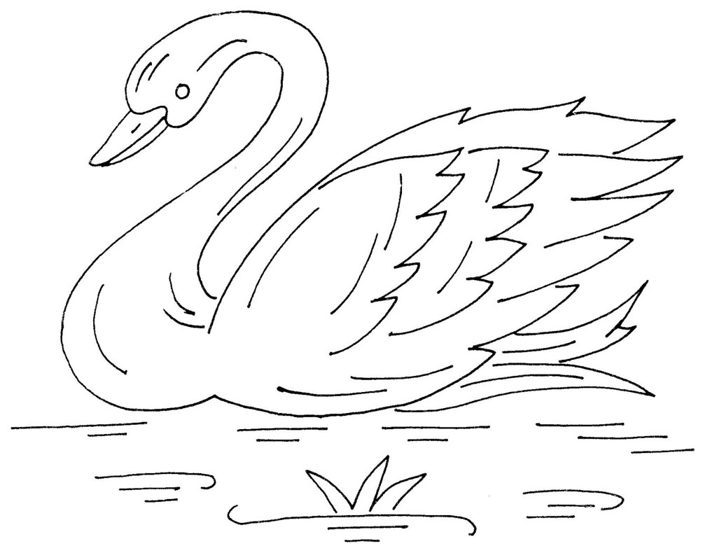 swan unknown manufacturer love to sew Flickr