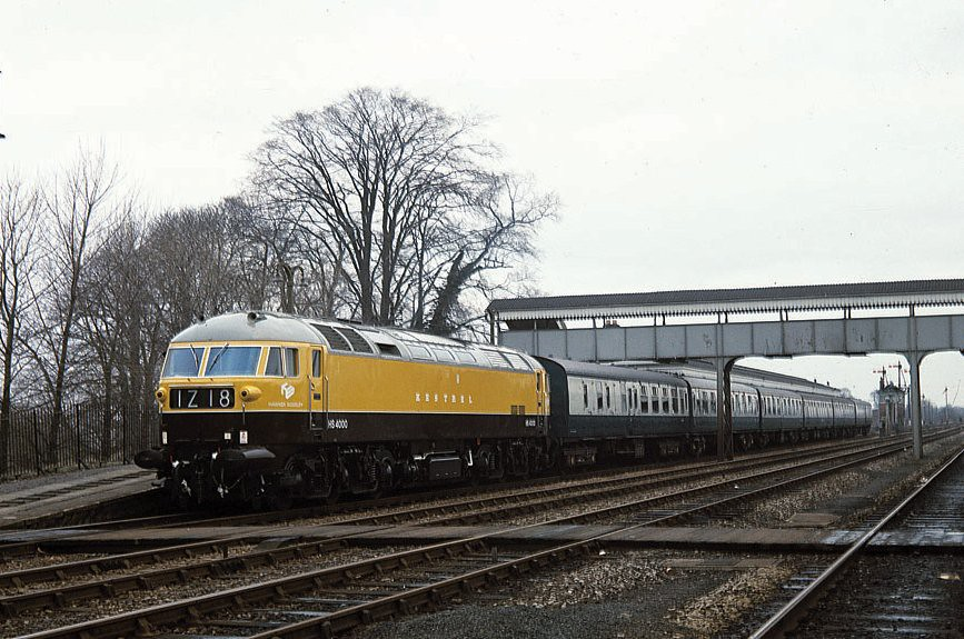 East Coast Diesel >> HS4000 . Kestrel . | Another prototype diesel was HS4000 Kes… | Flickr