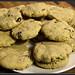cranberry almond cookies.