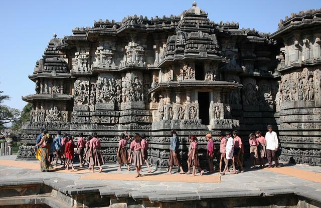 Hassan India  City pictures : Hoysaleswara Temple,near Hassan,Karnataka,India