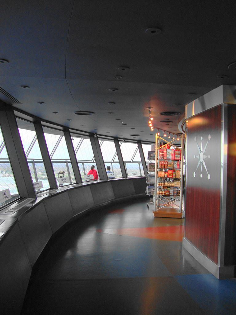 Niagara Falls Skylon Tower Observation Deck Inside 2010 DS