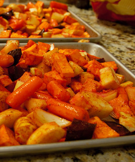 Roasted Winter Root Veggies | by erink_photography