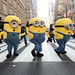 The Minions cross the street