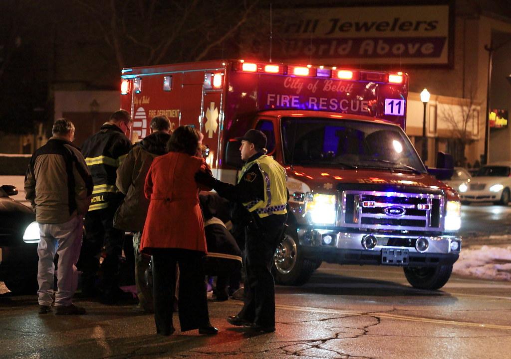 Car Accident Pedestrian Hit