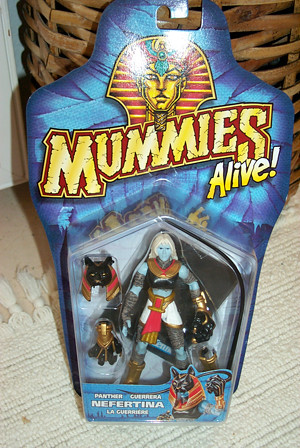 nefertina package | mummies alive! figures and toys by ...